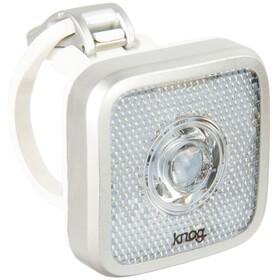 Knog Blinder MOB Eyeballer Fietsverlichting witte LED zilver